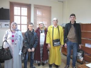 コンヤ:アルジェリア人神秘主義者一家(2014年3月25日)