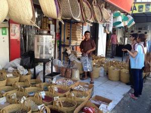 チュニス中央市場周辺のスパイスのお店(2014.7.21)
