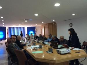 チュニジア側CPとの協議